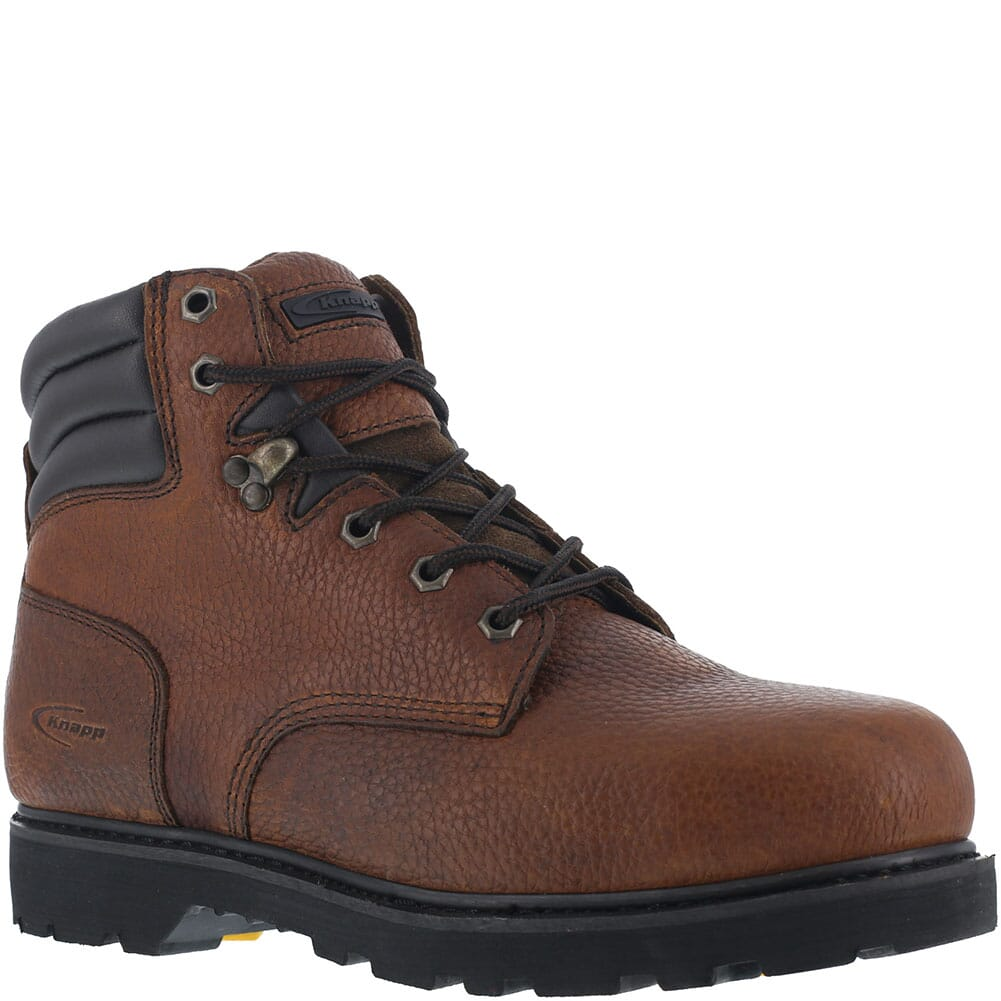 Image for Knapp Men's Backhoe Safety Boots - Brown from bootbay