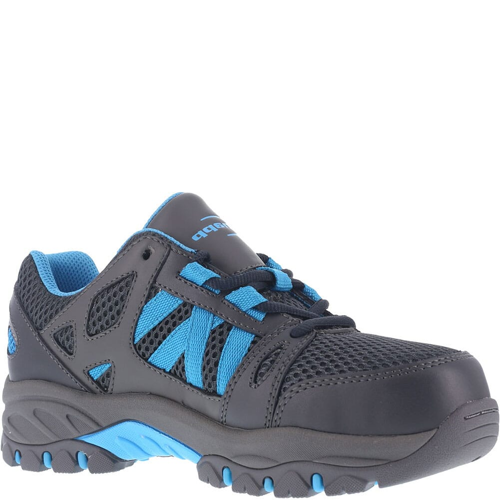 Image for Knapp Women's Allowance Sport Safety Shoes - Black/Blue from bootbay