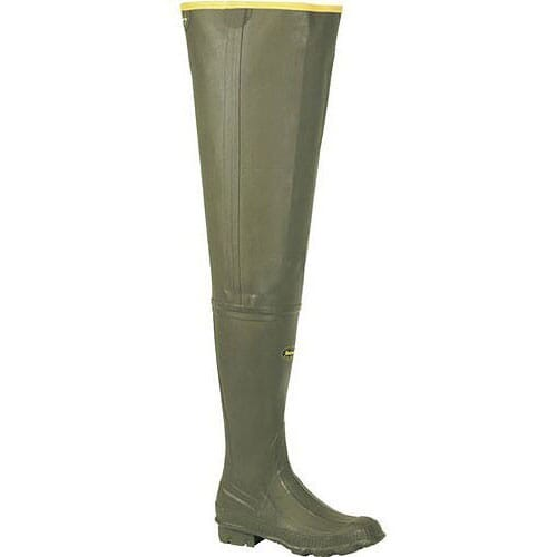 Image for Lacrosse Men's Big Chief Rubber Hip Waders - Olive Drab from bootbay