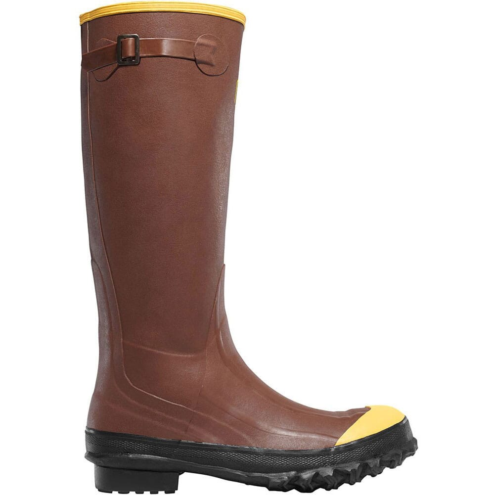 Image for LaCrosse Men's Pac 16IN Safety Boots - Rust from bootbay