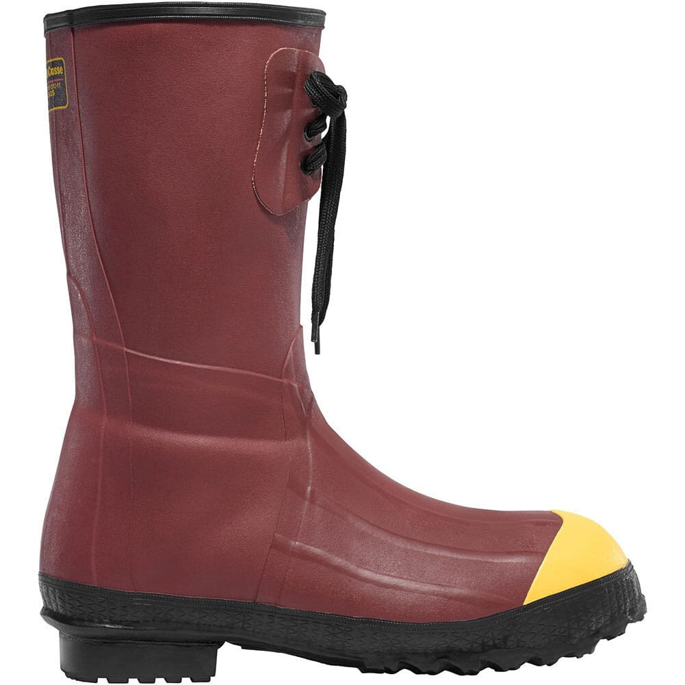 Image for LaCrosse Men's Pac 12IN Safety Boots - Red from bootbay