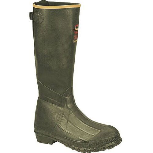 Image for Lacrosse Men's Burly TracLite Rubber Boots - Green from bootbay
