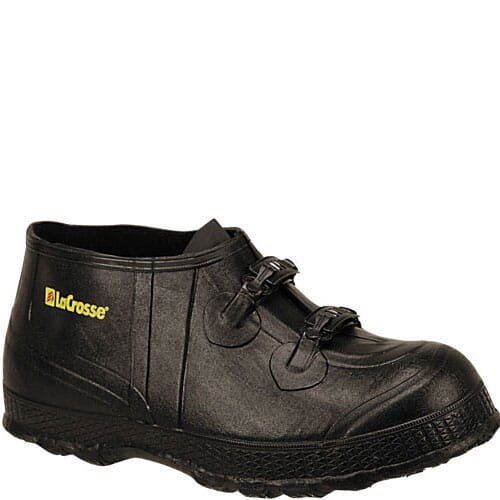 Image for Lacrosse Men's Z-Series Overshoe Rubber Shoes - Black from bootbay