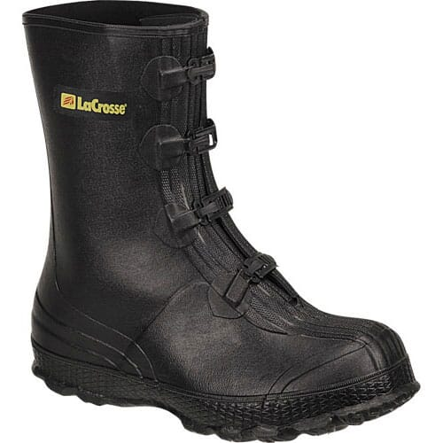 Image for Lacrosse Men's Z-Series Overshoe Rubber Boots - Black from bootbay