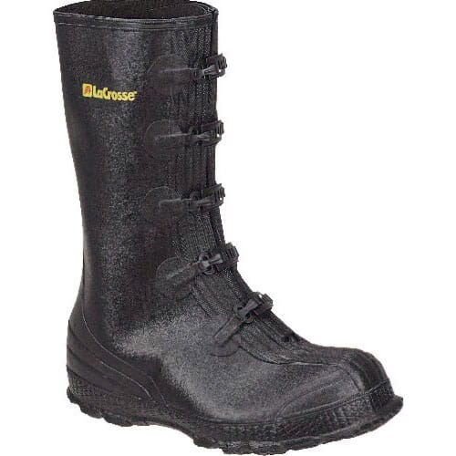 Image for Lacrosse Men's Z Series 14IN Overshoe Rubber Boots - Black from bootbay
