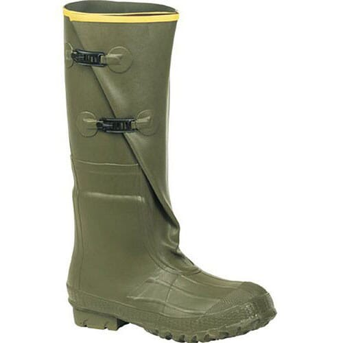 Image for Lacrosse Men's 2-Buckle Rubber Boots - Green from bootbay