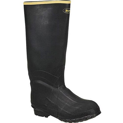Image for Lacrosse Men's ZXT Knee Rubber Boots - Black from bootbay
