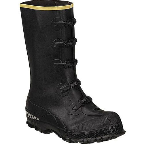 Image for Lacrosse Men's ZXT Buckle Overshoe Rubber Boots - Black from bootbay