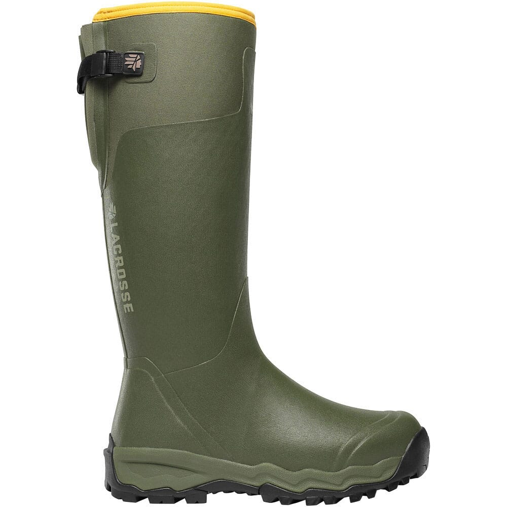 Image for LaCrosse Men's Alphaburly Pro Rubber Boots - Green from bootbay