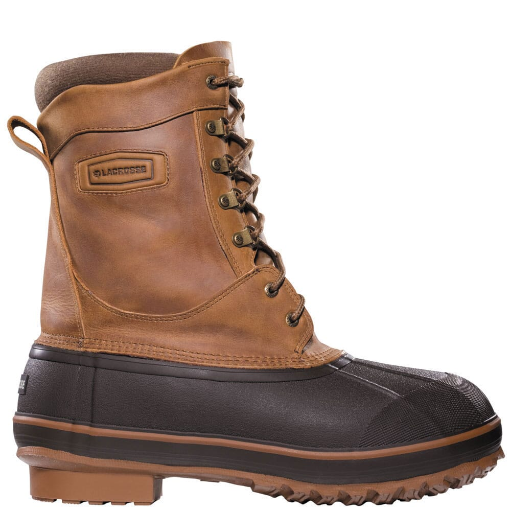 Image for LaCrosse Men's Ice King 400G Pac Boots - Brown from bootbay