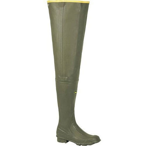 Image for LaCrosse Men's Big Chief Rubber Waders - Green from bootbay