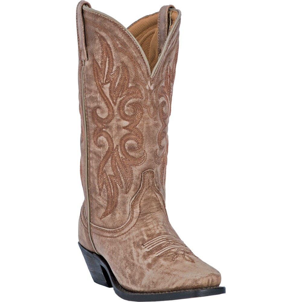 Image for Laredo Women's Maricopa Western Boots - Tan from elliottsboots