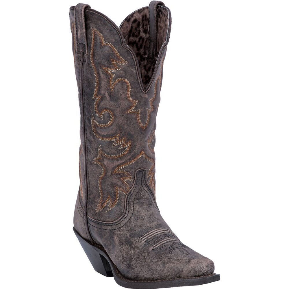 Image for Laredo Women's Access Western Boots - Black/Tan from bootbay