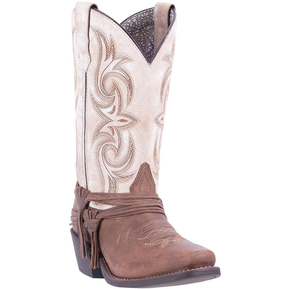 Image for Laredo Women's Myra Western Boots - Sand/White from bootbay