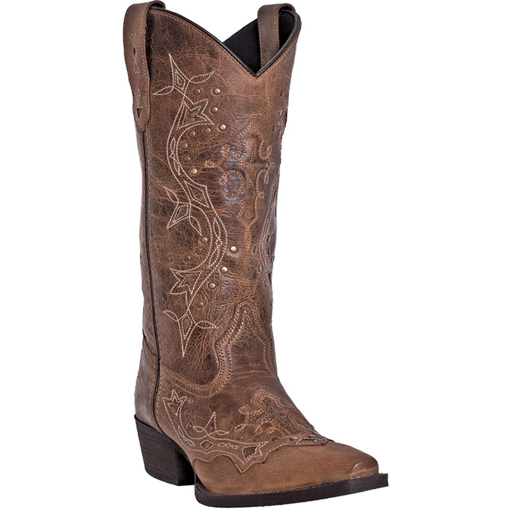 Image for Laredo Women's Cross Point Western Boots - Burnt Rust from bootbay