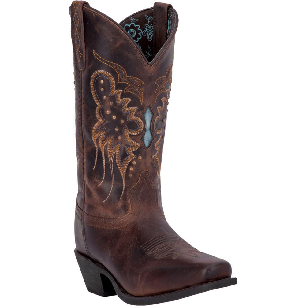 Image for Laredo Women's Cora Western Boots - Brandy from elliottsboots