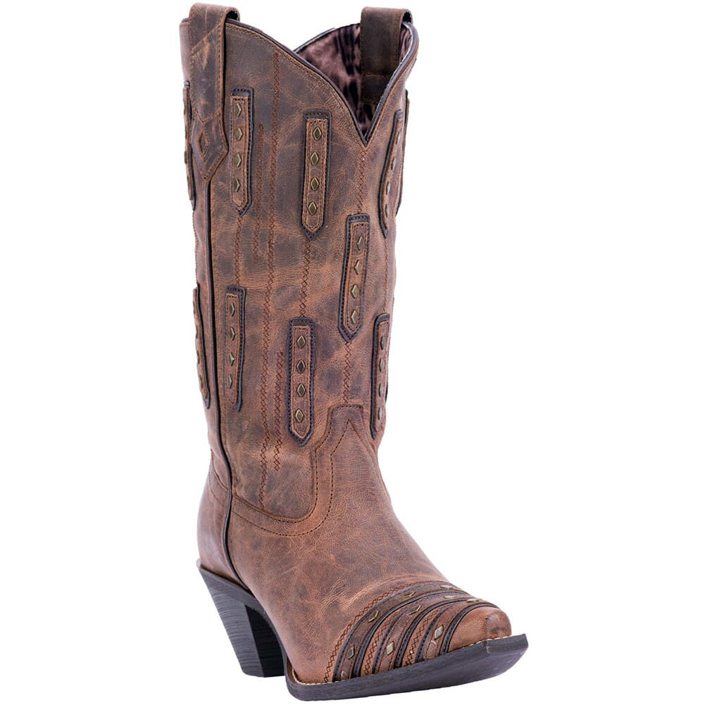 Image for Laredo Women's Whiskey Sour Western Boots - Brown from bootbay