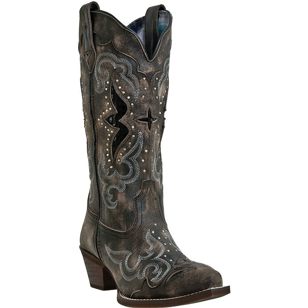 Image for Laredo Women's Lucretia Western Boots - Black from elliottsboots