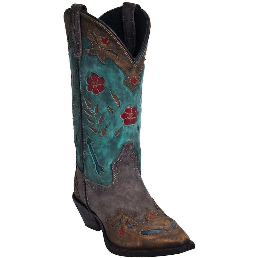 Image for Laredo Women's Miss Kate 11IN Western Boots - Teal from elliottsboots