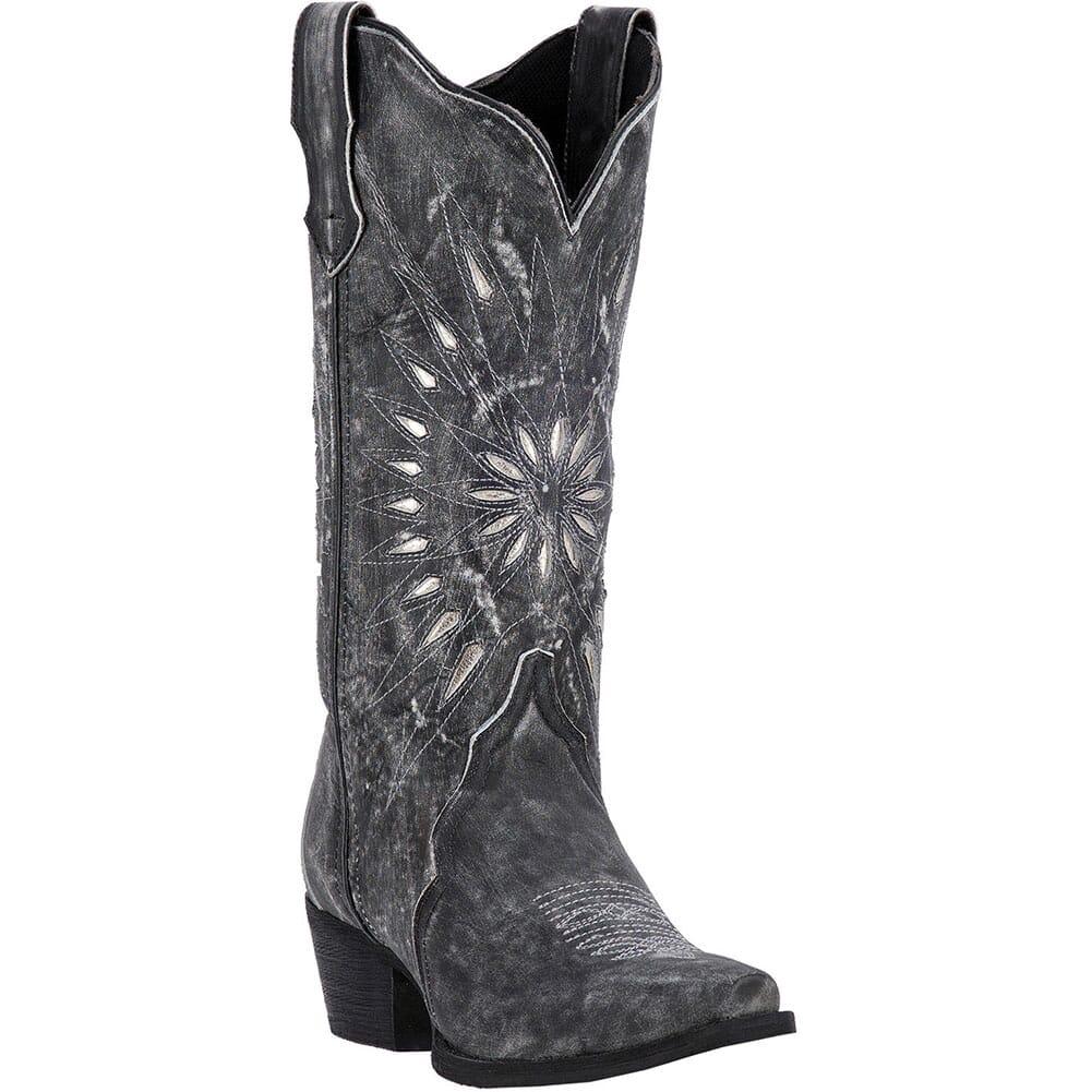 Image for Laredo Women's Starburst Western Boots - Black from bootbay