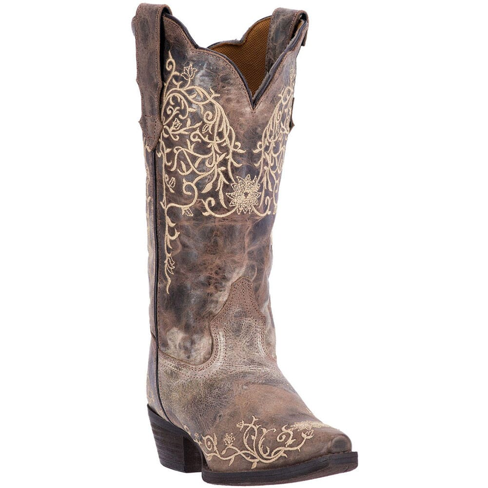 Image for Laredo Women's Jasmine Western Boots - Taupe from elliottsboots