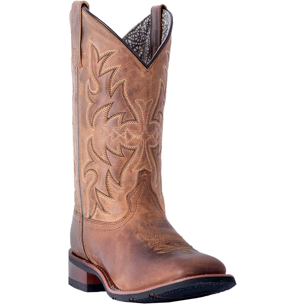 Image for Laredo Women's Anita Western Boots - Tan from elliottsboots