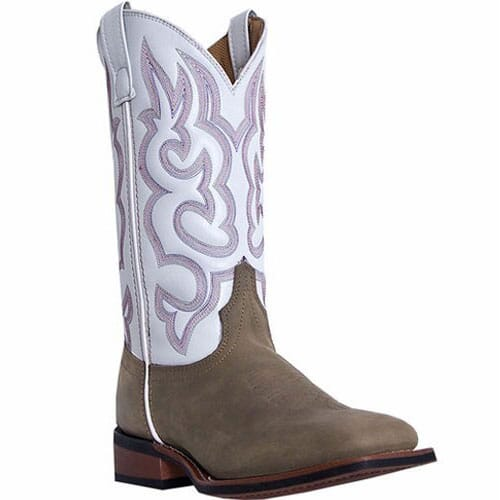 Image for Laredo Women's Mesquite Western Boots - White from elliottsboots