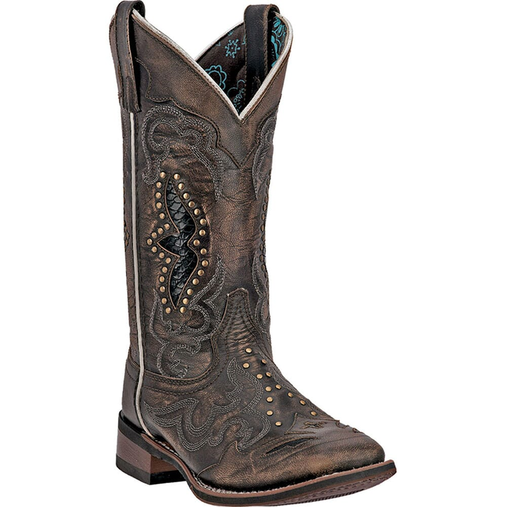 Image for Laredo Women's Spellbound Western Boots - Black/Tan from bootbay