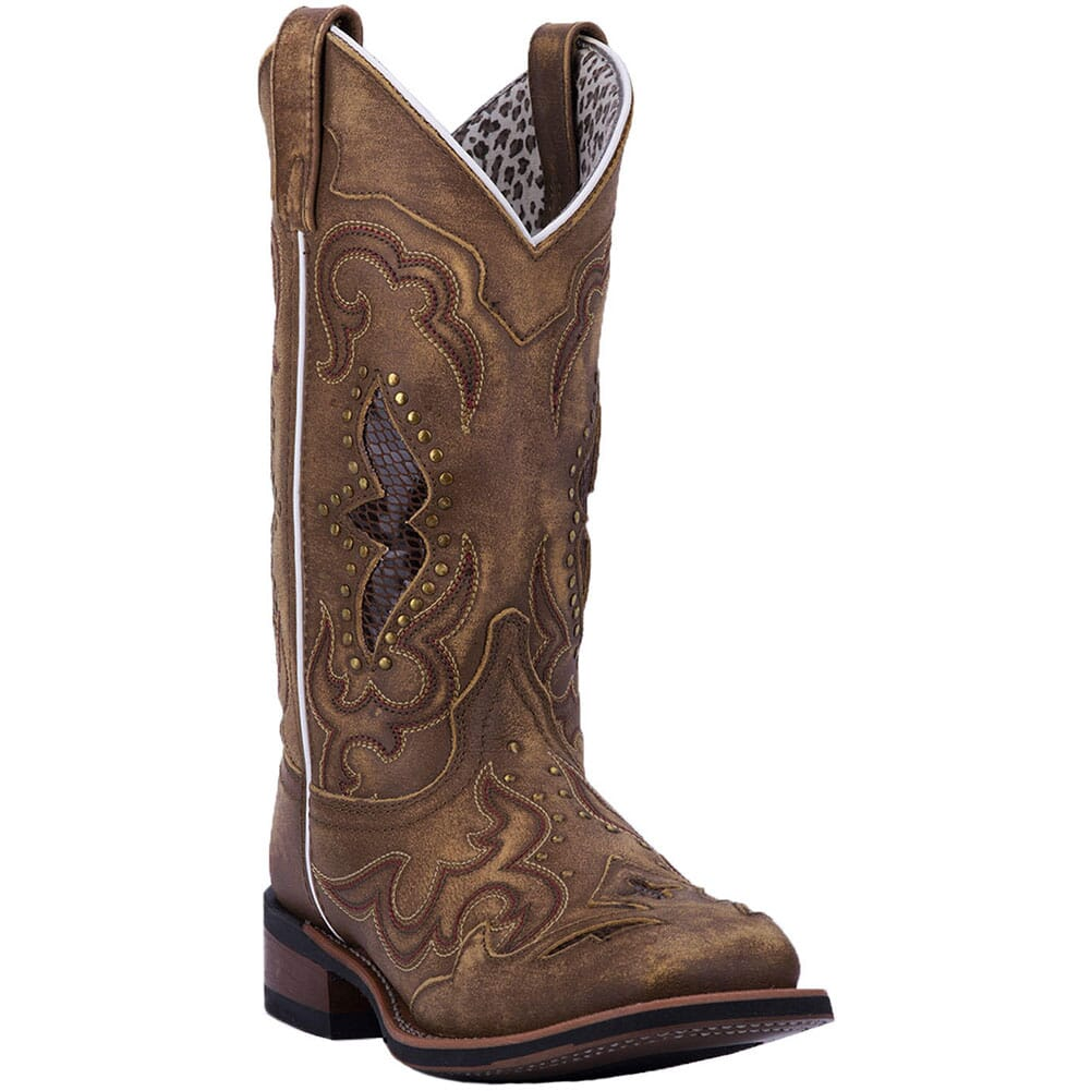 Image for Laredo Women's Spellbound Western Boots - Tan from elliottsboots