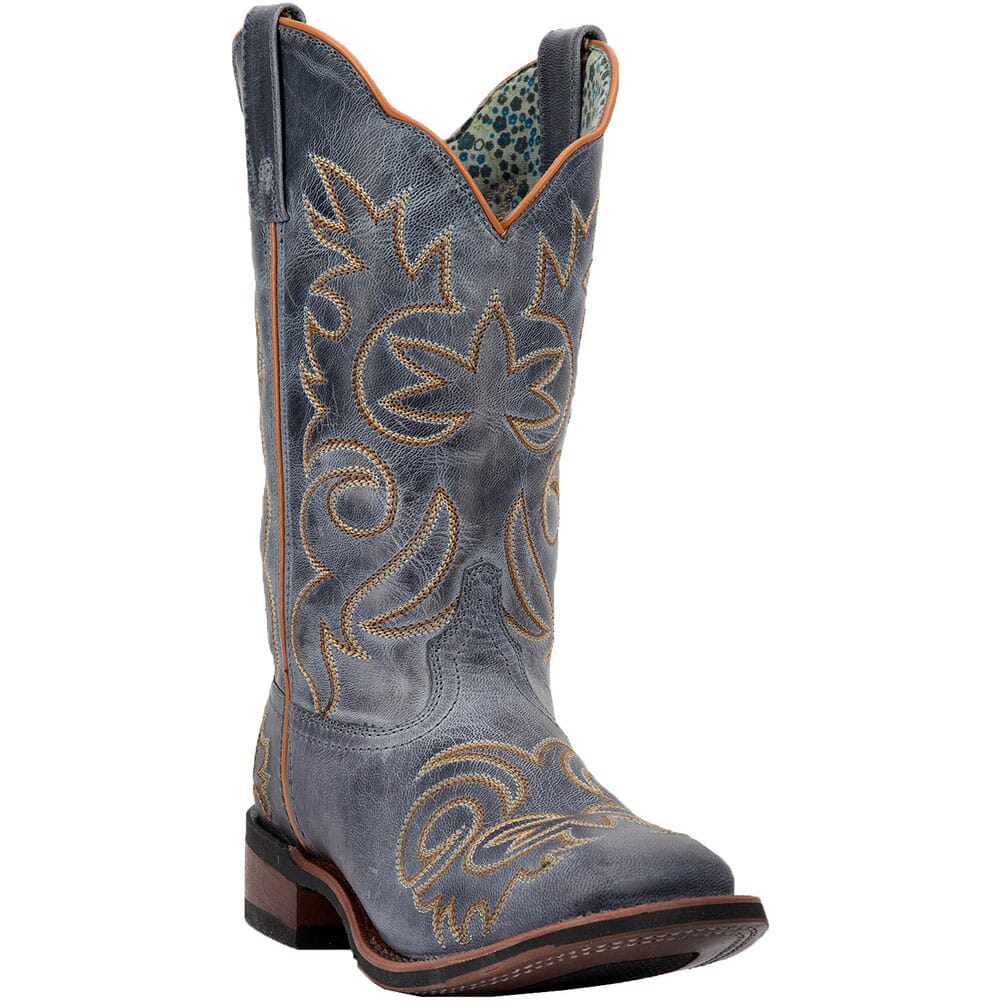 Image for Laredo Women's Ella Western Boots - Blue from bootbay