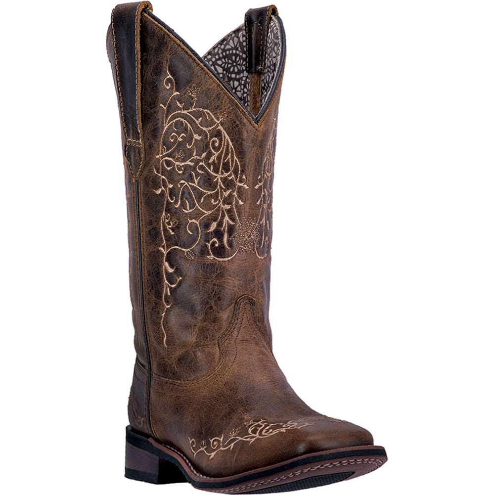 Image for Laredo Women's Ivy Western Boots - Taupe from elliottsboots