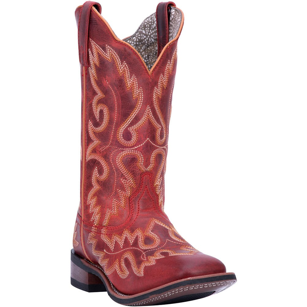 Image for Laredo Women's Eva Western Boots - Red from elliottsboots