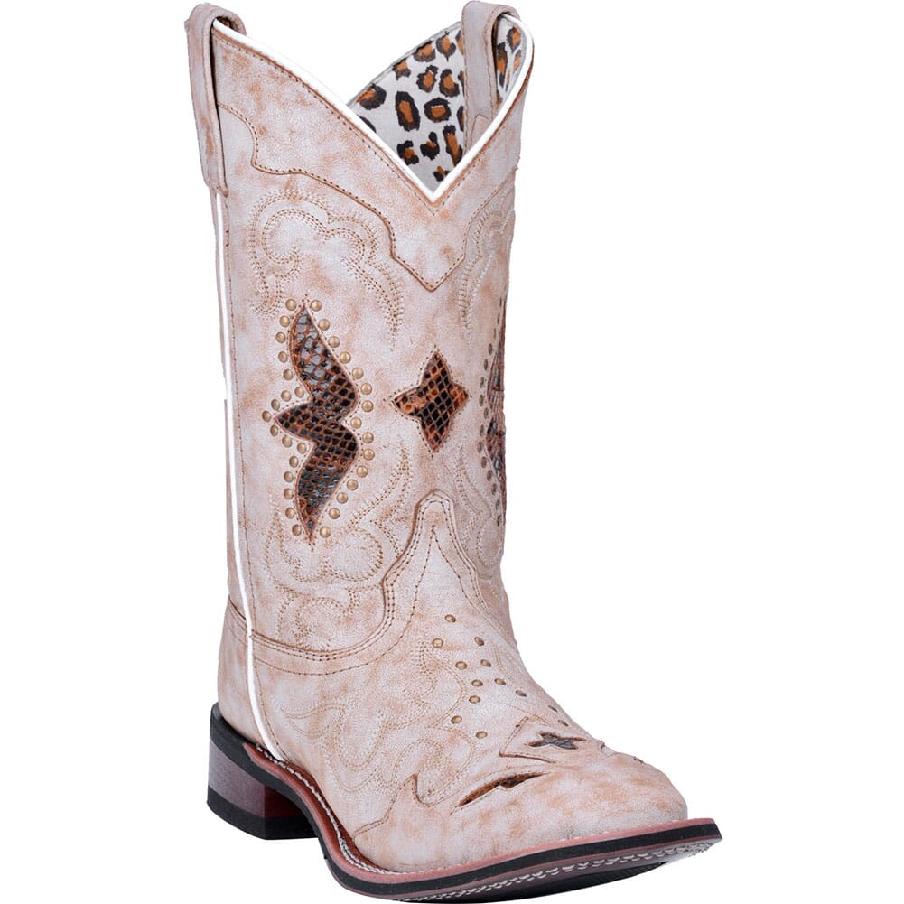 Image for Laredo Women's Spellbound Western Boots - Off White from elliottsboots