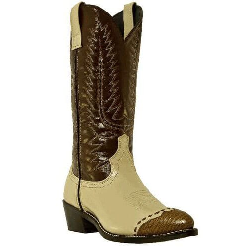 Image for Laredo Men's Flagstaff Western Boots - Bone/Brown from bootbay