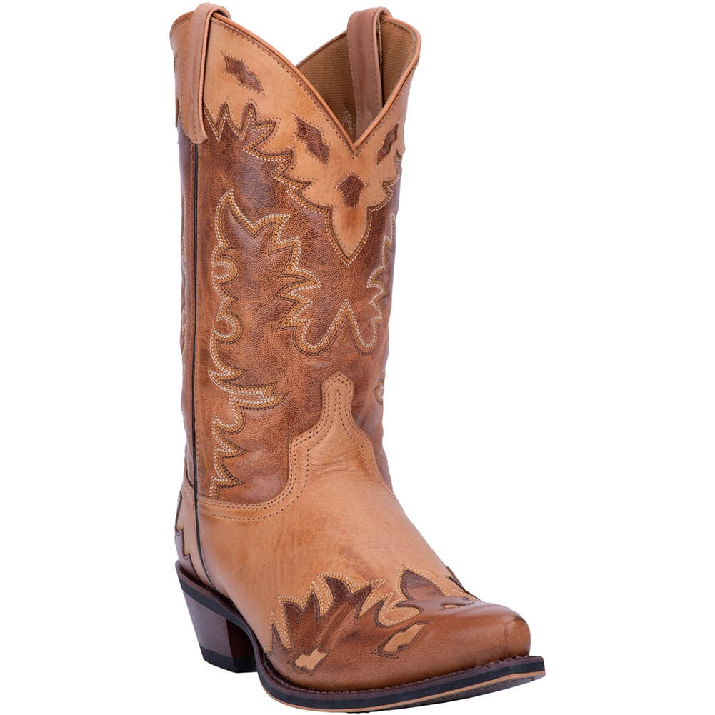 Image for Laredo Men's Nash Western Boots - Antique Brown from bootbay