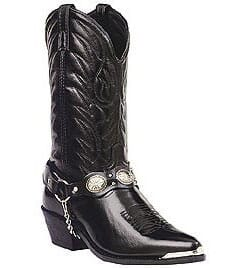 Image for Laredo Men's Tallahassee Western Boots - Black from bootbay
