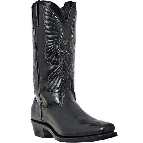 Image for Laredo Men's Gainesville Western Boots - Black from bootbay