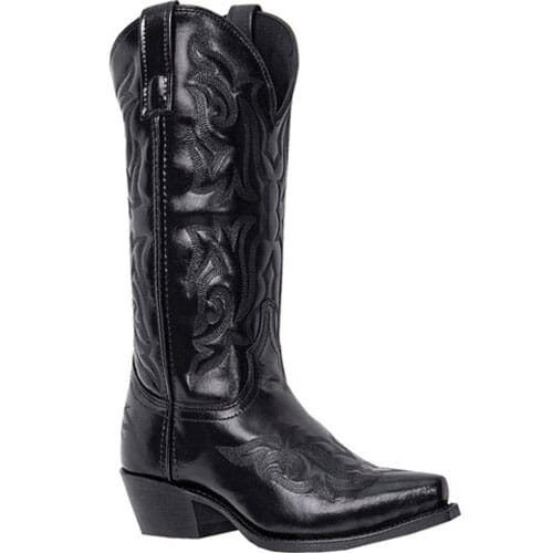 Image for Laredo Men's Hawk Western Boots - Black from bootbay