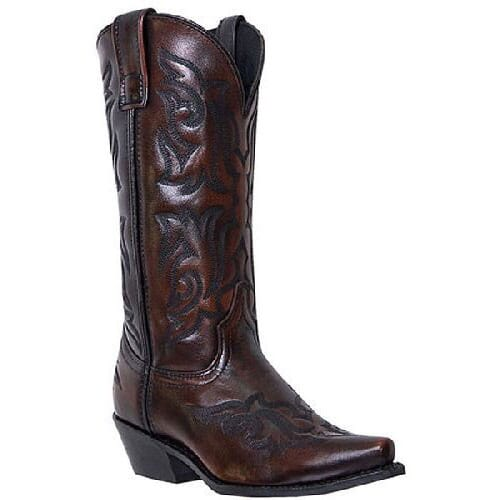 Image for Laredo Men's Hawk Western Boots - Burnished Gold from bootbay