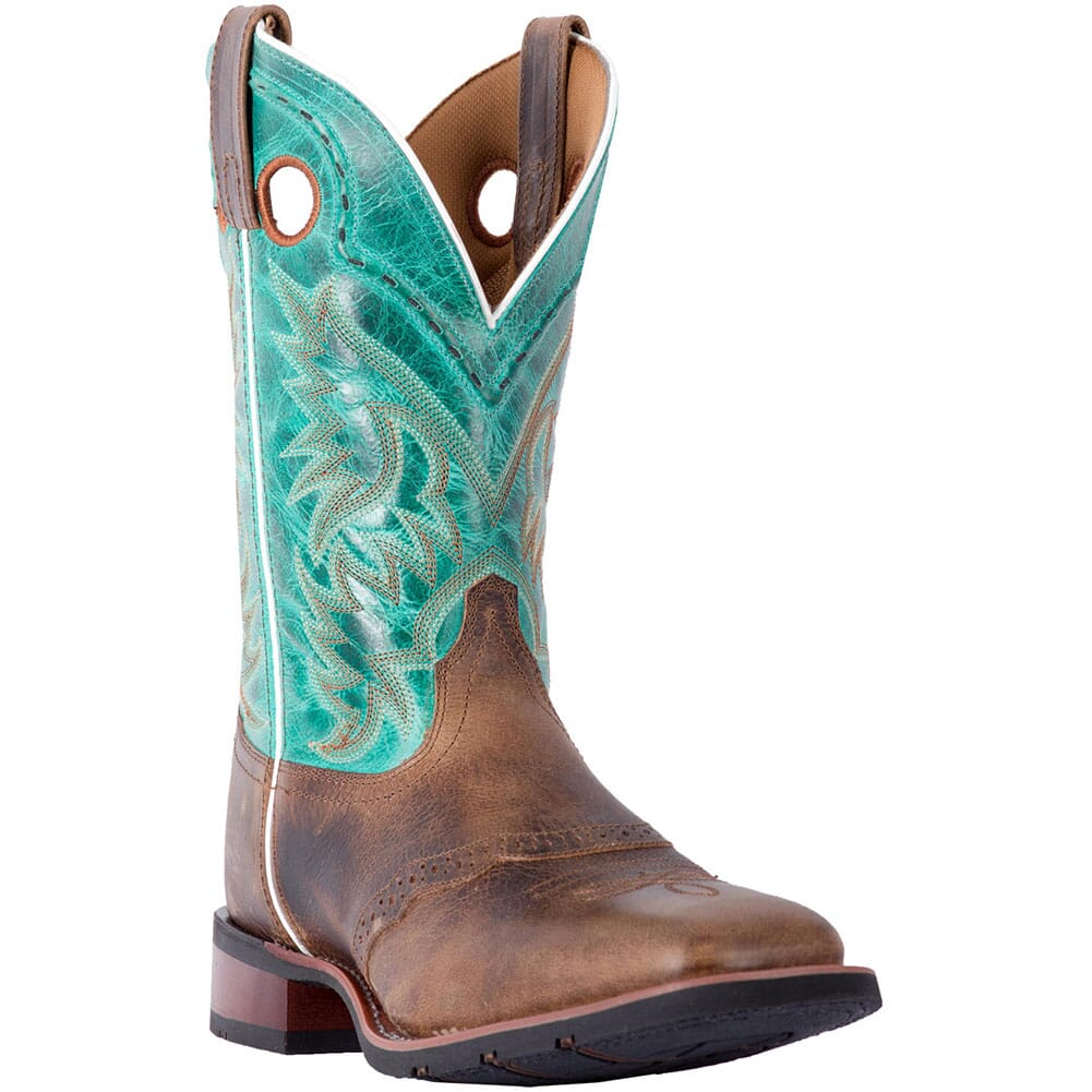 Image for Laredo Men's Ward Western Boots - Tan/Turquoise from bootbay