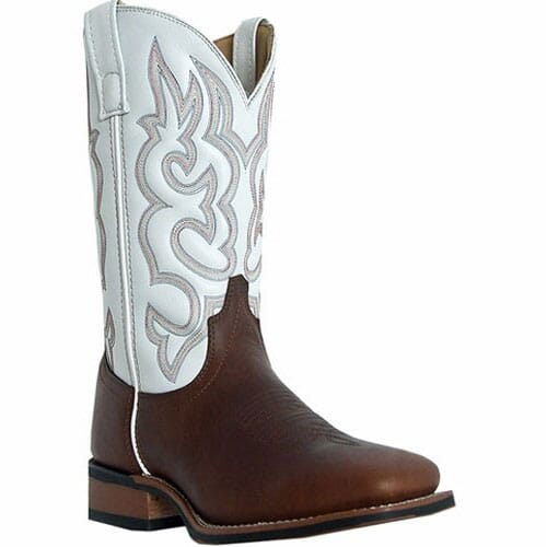 Image for Laredo Men's Lodi Western Boots - White from bootbay