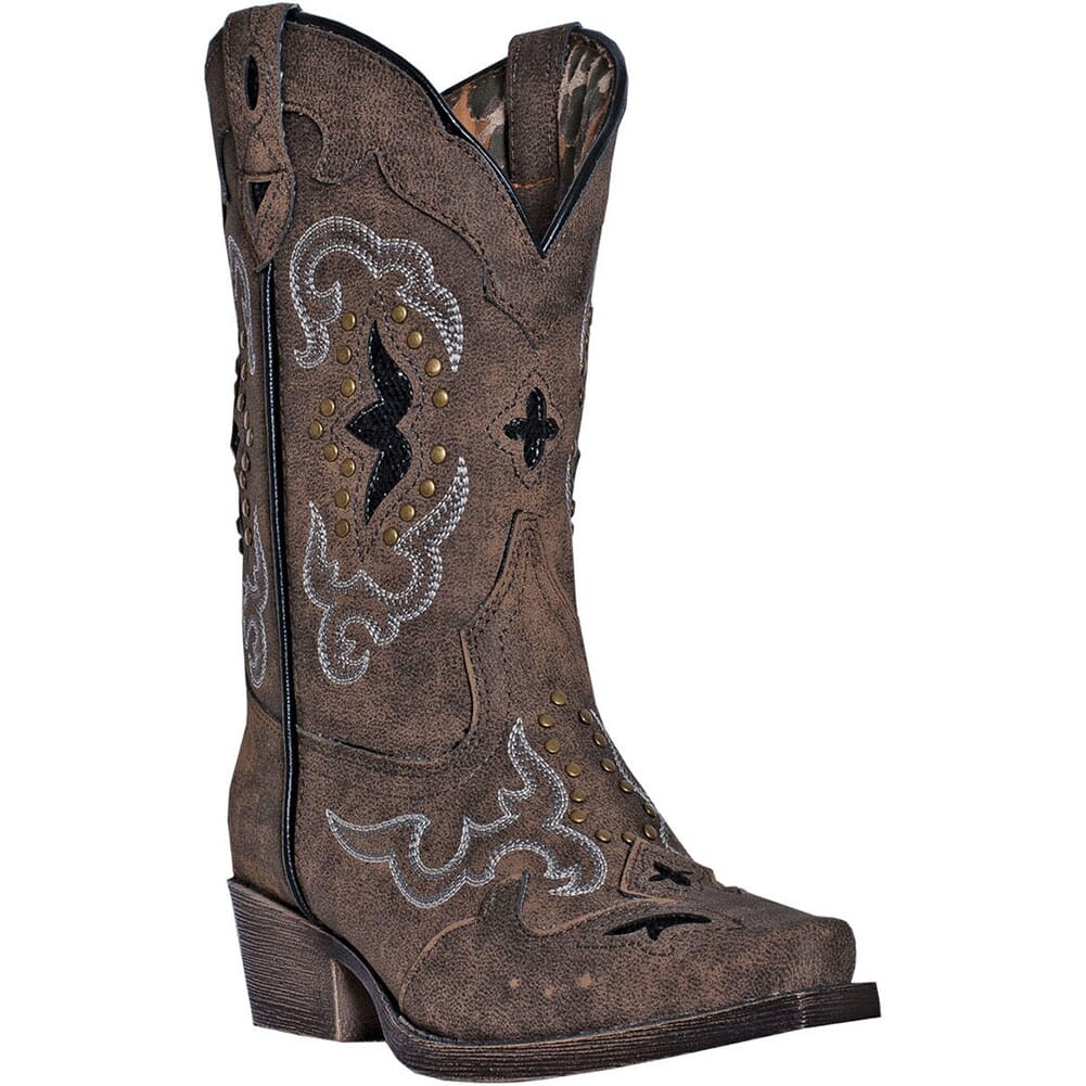 Image for Laredo Kid's Rulay Western Boots - Brown from bootbay