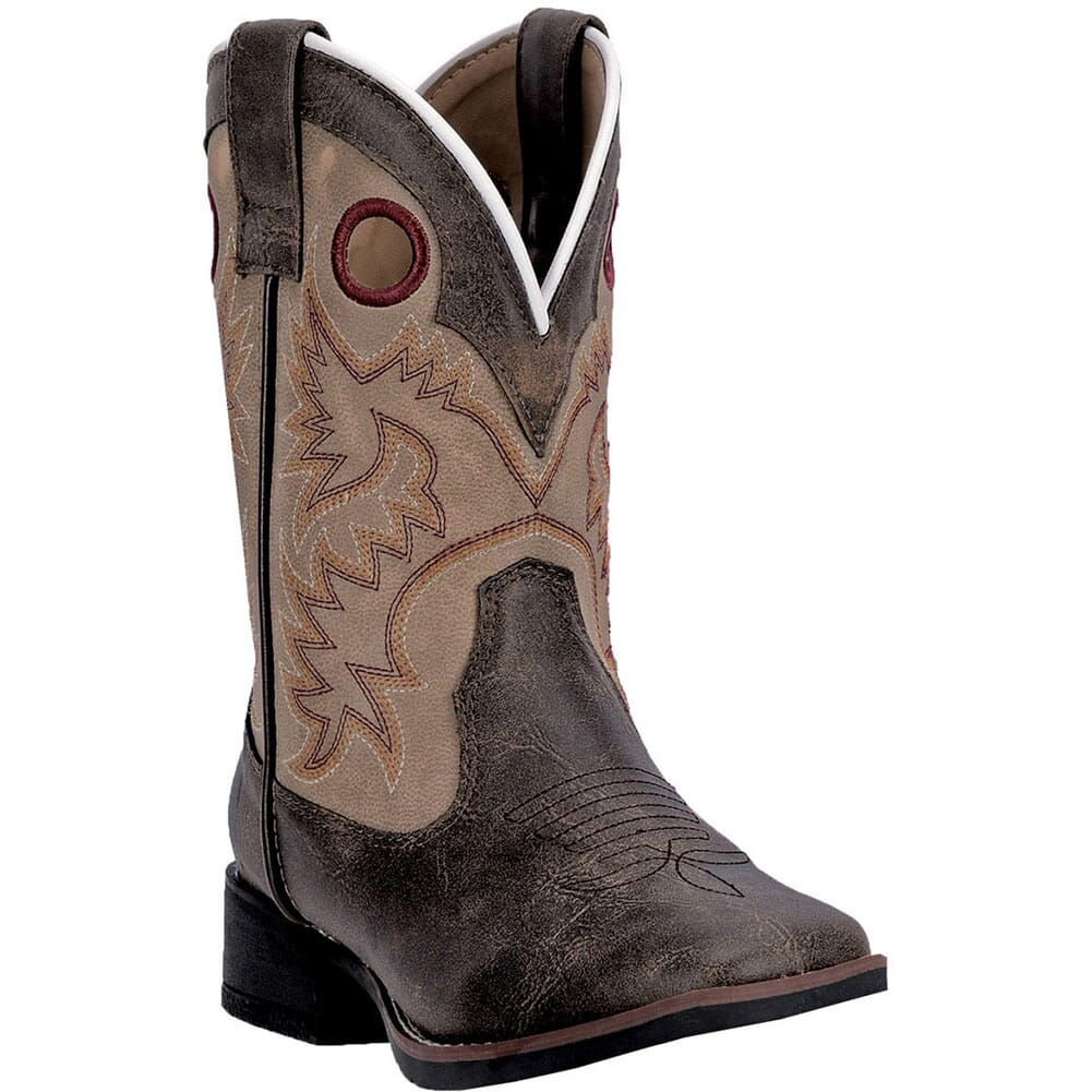 Image for Laredo Kid's Collared Western Boots - Brown/Tan from bootbay