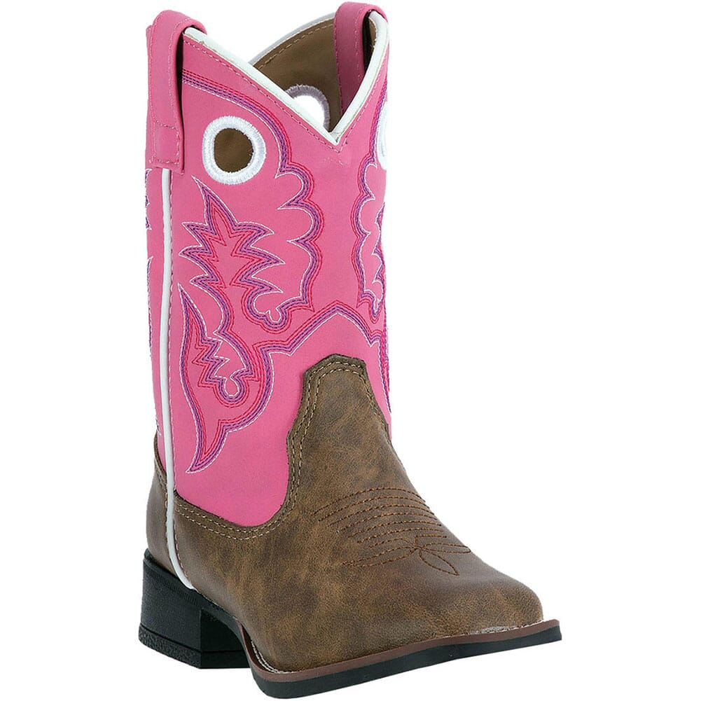 Image for Laredo Kid's Mahaska Western Boots - Tan/Pink from bootbay