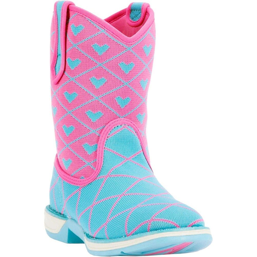 Image for Laredo Kid's Spryte Western Boots - Blue/Pink from bootbay