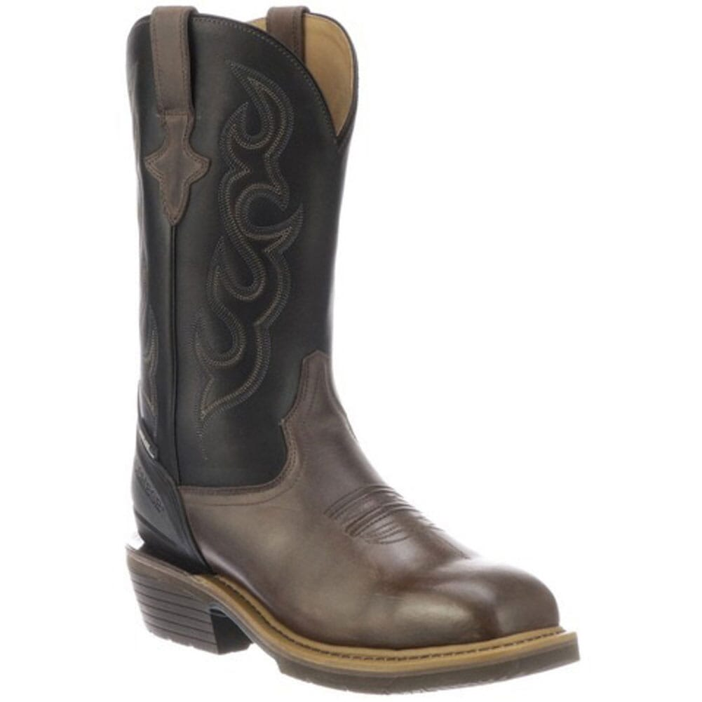 Image for Lucchese Men's Welted Safety Boots - Mocha/Black from bootbay