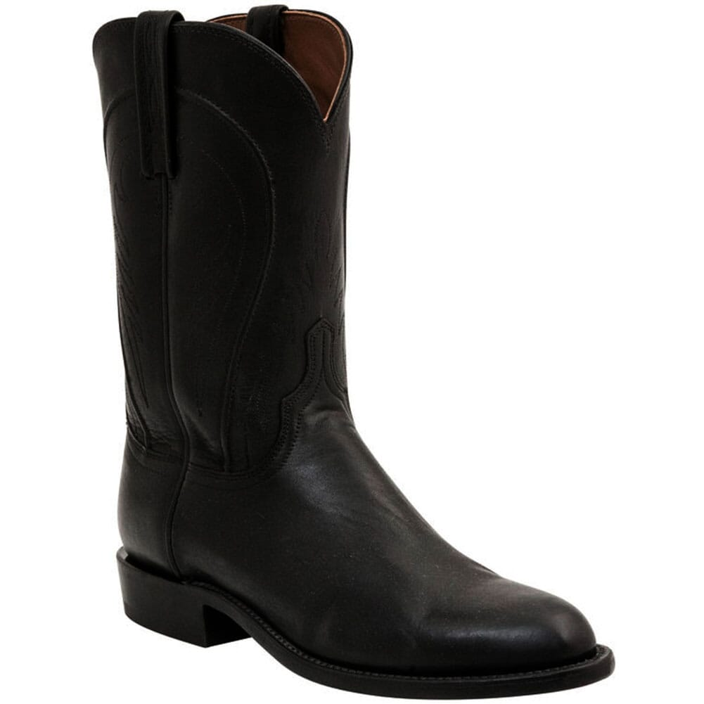 Image for Lucchese Men's Navarro Herit Western Boots - Black from bootbay