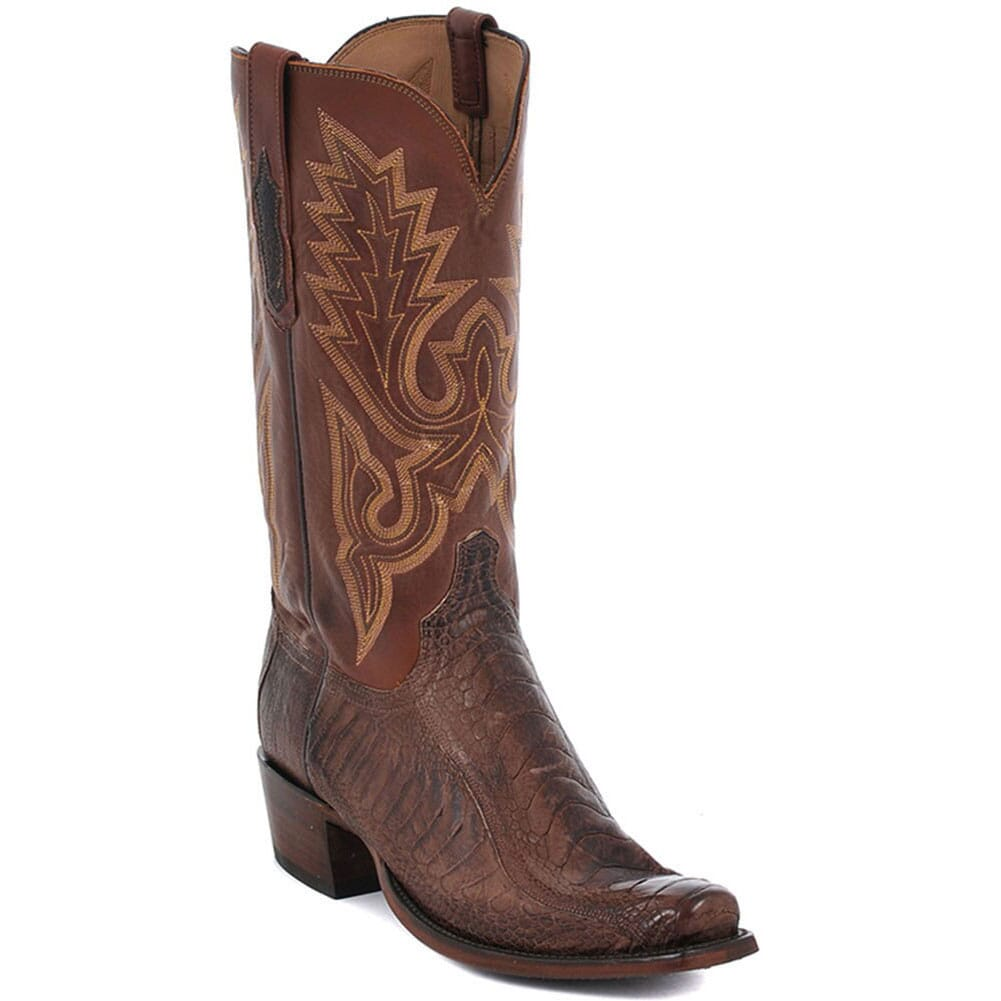 Image for Lucchese Men's Anson Western Boots - Tan from bootbay
