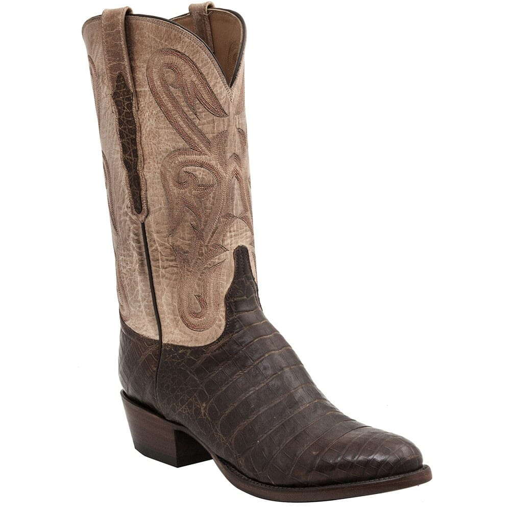 Image for Lucchese Men's Classic Caiman Western Boots - Cigar from bootbay