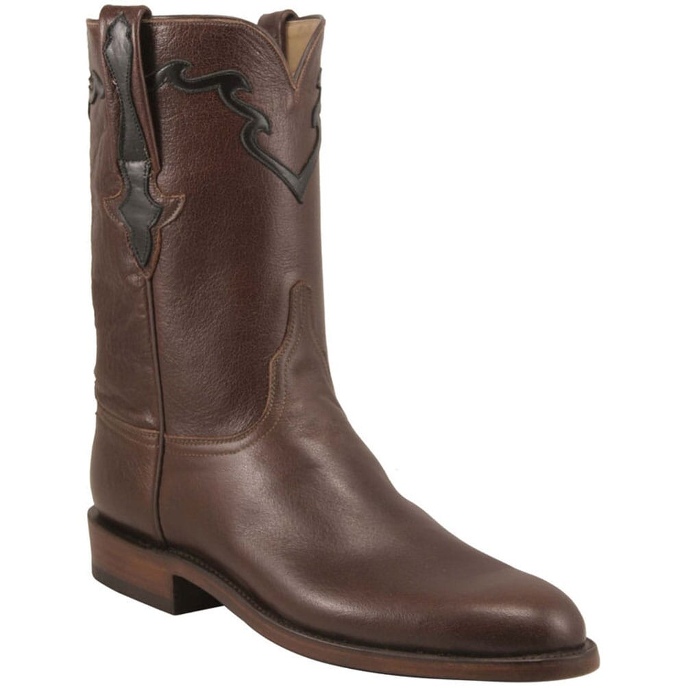 Image for Lucchese Men's Classic Buffalo Western Ropers - Whiskey from bootbay